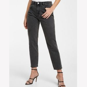 Frank and Oak Stevie high rise in faded black